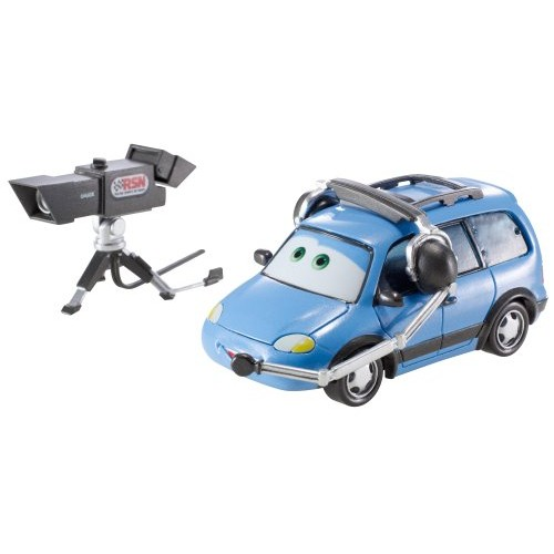 Disney Pixar Cars Oversized Chuck Choke Cables with Camera Vehicle