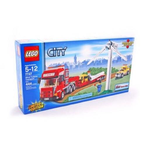 Wind Turbine Transport – LEGO set #7747-1