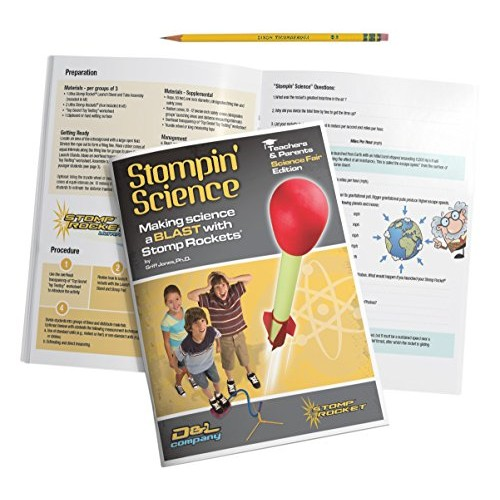 Stomp Rocket Stompin' Science Book – Use with Toy Launcher Kits
