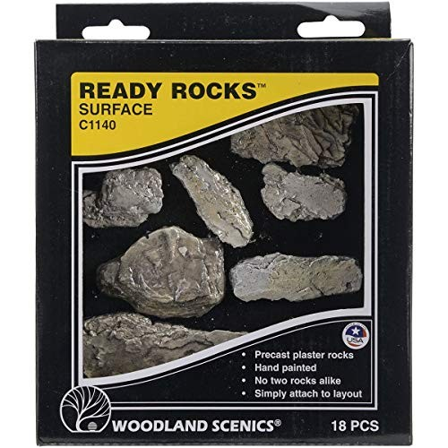 Woodland Scenics Ready Rocks-Surface 1 Transparent