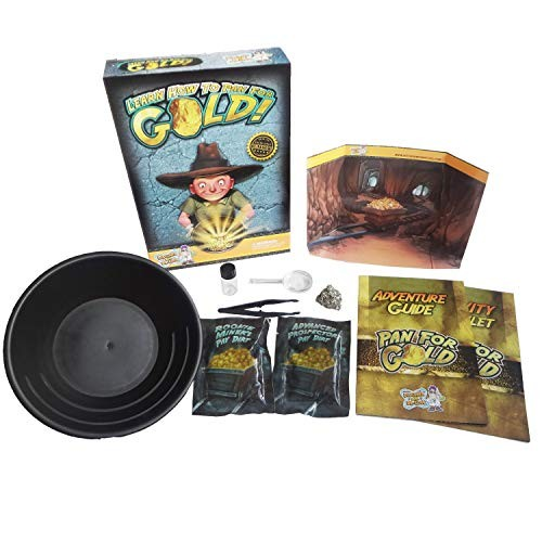 Discover with Dr Cool Pan for Gold Science Kit – Learn Panning and Become a Prospector