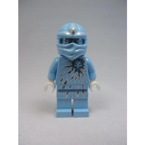 LEGO Ninjago NRG Zane Minifigure Light Blue Ninja