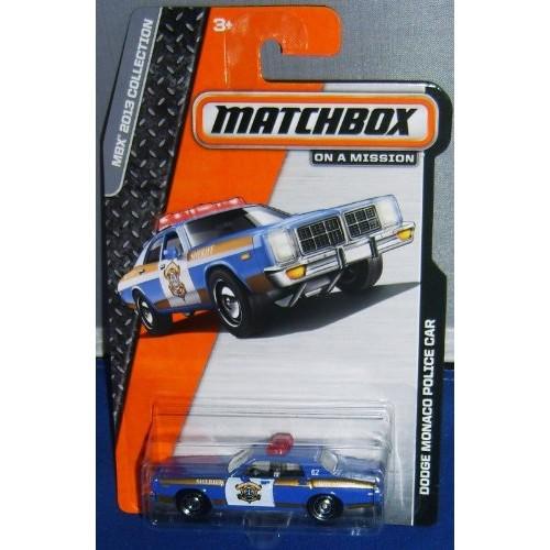 Matchbox MBX 2013 Collection – Dodge Monaco Police Car