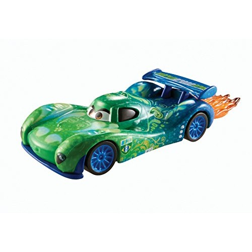 Disney Pixar Cars Carla Veloso with Flames Diecast Vehicle