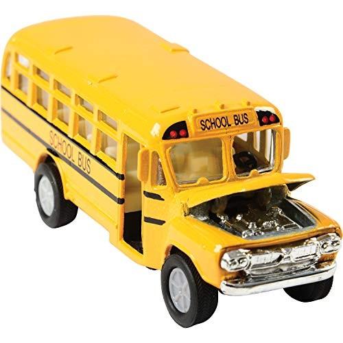 US Toy Die Cast Metal Toy School Bus 5