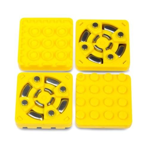 Modular Robotics Cubelets Brick Adapter 4-Pack Yellow