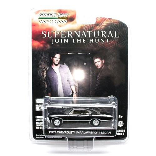 1967 CHEVROLET IMPALA SPORT SEDAN from the television show SUPERNATURAL Greenlight Collectibles 1:64 Scale