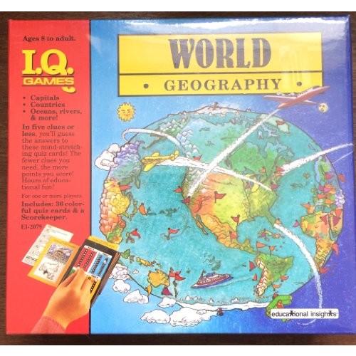 1989 IQ Games World Geography