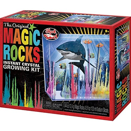 Toysmith Magic Rocks Instant Crystal Growing Kit Assorted Styles