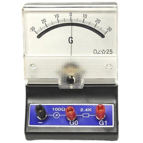 Galvanometer + -30-0-30A Ultra Sensitive Physics Lab