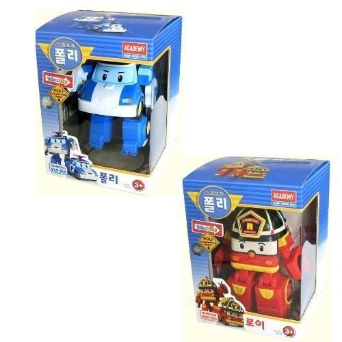 Robocar Poli + Roy 2 Transformable Robot toys