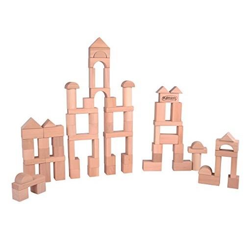 Playskool Natural Blocks 80-Piece