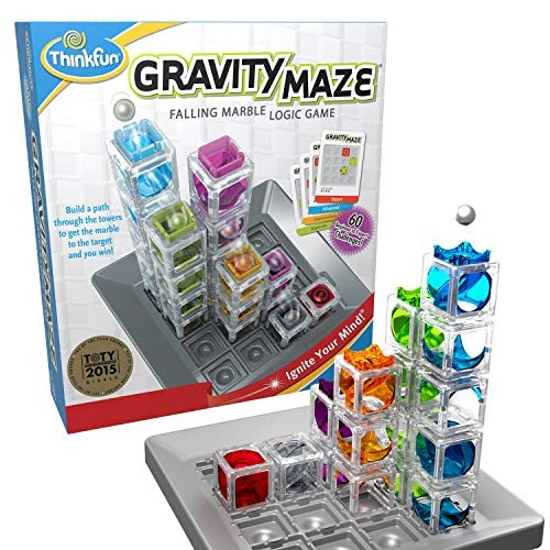 ThinkFun Gravity Maze Marble Run Brain Game and STEM Toy for Age 8 Up of the Year Award Winner