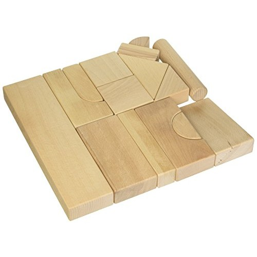 KidKraft Wooden Block Set 60-Piece