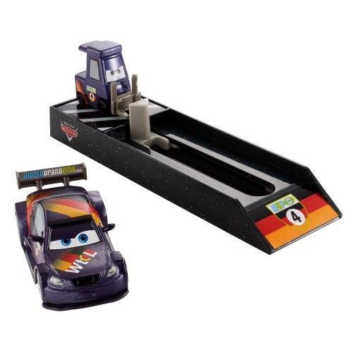 Disney Cars Pit Crew Launchers Max Schnell Vehicle
