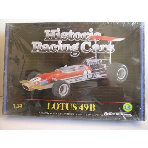 Heller Humbrol—Historic Racing Cars Lotus 49B Rcarer Plastic Model Kit