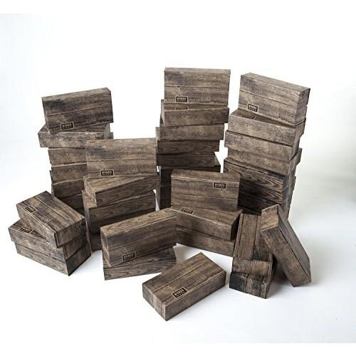 Mondo Bloxx 40 Pack Timber Blocks USA Made
