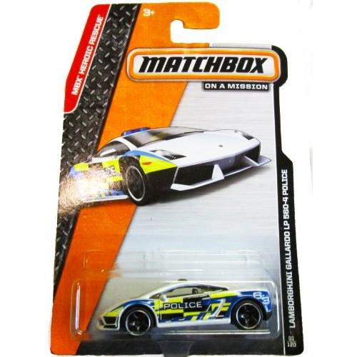 Matchbox on a Mission – MBX Heroic Rescue – 81/120 – Lamborghini Gallardo LP