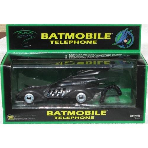 Batman 1995 Forever Batmobile Telephone Light-Up Car