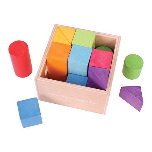Bigjigs Toys First Building Blocks