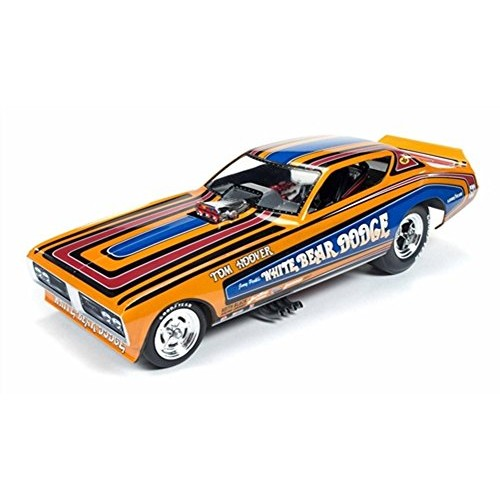 1971 Dodge Charger F/C Tom Hoover White Bear NHRA Funny Car 1/18 by Autoworld
