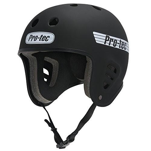 PROTEC Original Full Cut Helmet Satin Black X-Large