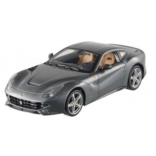 Hot wheels BCJ74 Ferrari F12 Berlinetta Grey 1/18 Diecast Car Model by Hotwheels
