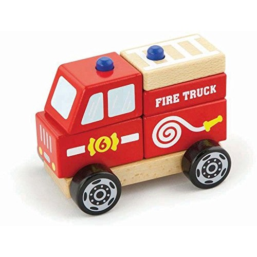 VIGA Toys – 50203 Stacking Fire Truck