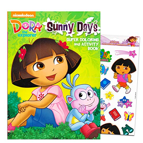 - Dora The Explorer Giant Coloring Book With Stickers 144 Pages By Bendon  Publishing - Educational Toys Planet