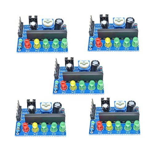 HiLetgo 5pcs KA2284 Level Indicator Module Audio