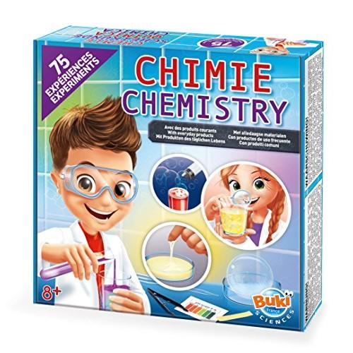 Buki Childrens 75 Science Experiment Chemistry Set