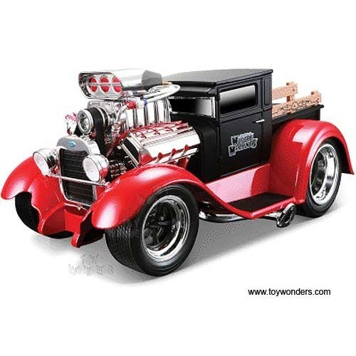 Maisto Muscle Machines – Ford Model AA Pickup w/ Engine Blower (1929 1/18 scale