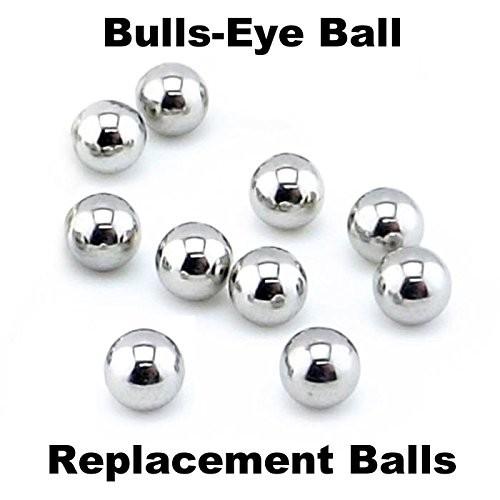 Tiger Hasbro Bulls-Eye Ball 10 Replacement Steel Balls