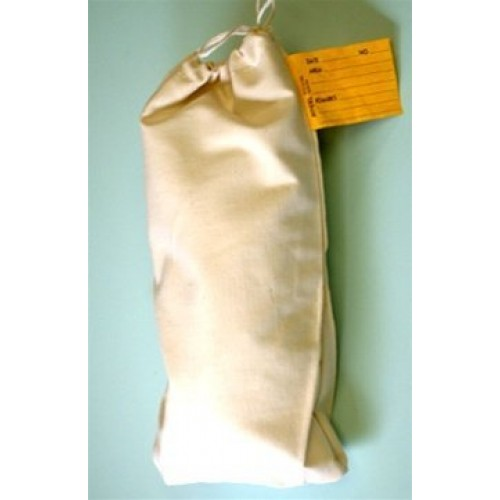 CGS 10 oz Canvas 7 x 12 Sample Bags with Draw Cord 1172