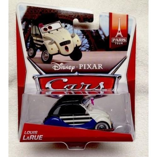 Disney Cars Louis LaRue Paris Tour 1:55 Scale Mattel Diecast