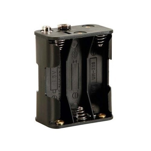 Velleman BH363B Battery Holder for 6 x AA-Cell with Snap Terminals 1 Grade to 12