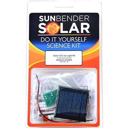 SunBender DIY Solar LED Jar Light Kit – Soldering Required Yellow