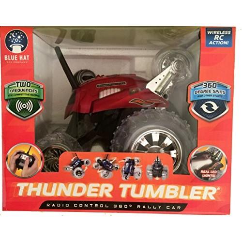 Thunder Tumbler Radio Control 360 Degree Rally Car Red