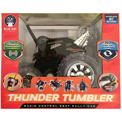 Thunder Tumbler Radio Control 360 Degree Rally Car (Black)
