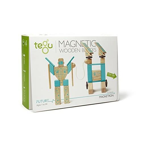 Tegu Magnetron Magnetic Wooden Block Set