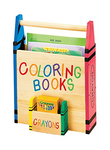 Fox Valley Traders Miles Kimball Coloring Book Holder