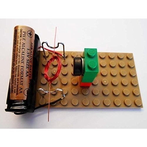 Simple Electric Motor Kit #16 – DIY Science Projects & Kids Education