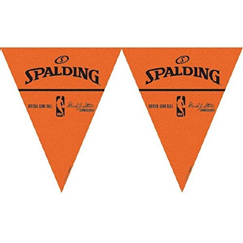 Spalding Basketball Collection Pennant Banner Party Decoration