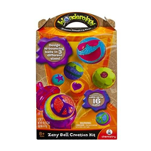 Wonderology – Science Kit Zany Ball Creation