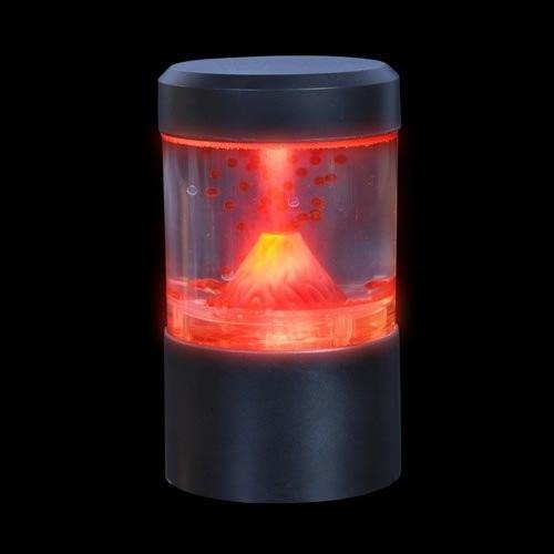 Mini Active Volcano Simulation Lamp