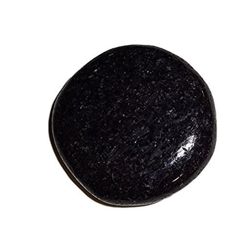 1pc Premium Nuummite Power Stone Crystal Healing Gemstone Smooth Polished Flat Worry