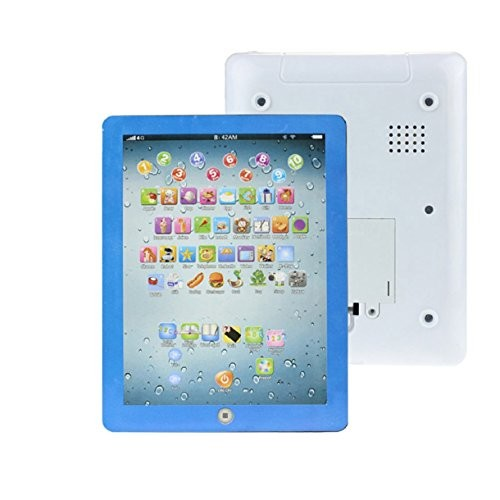 Lookatool Child Touch Type Computer Tablet English Learning Study Machine Toy Blue