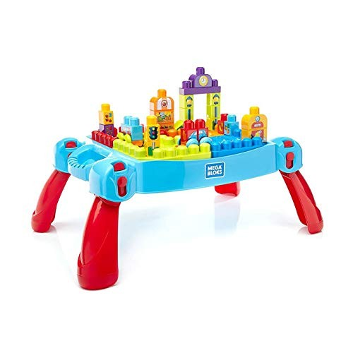 Mega Bloks First Builders Build 'n Learn Table Amazon Exclusive