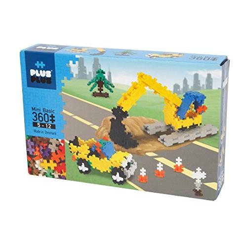 PLUS – Instructed Play Set 360 Piece Construction Building Stem Toy Interlocking Mini Puzzle Blocks for Kids