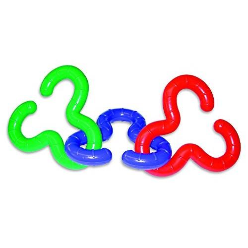 Edushape Ed 996401Trio Links Shapes sort and Stack